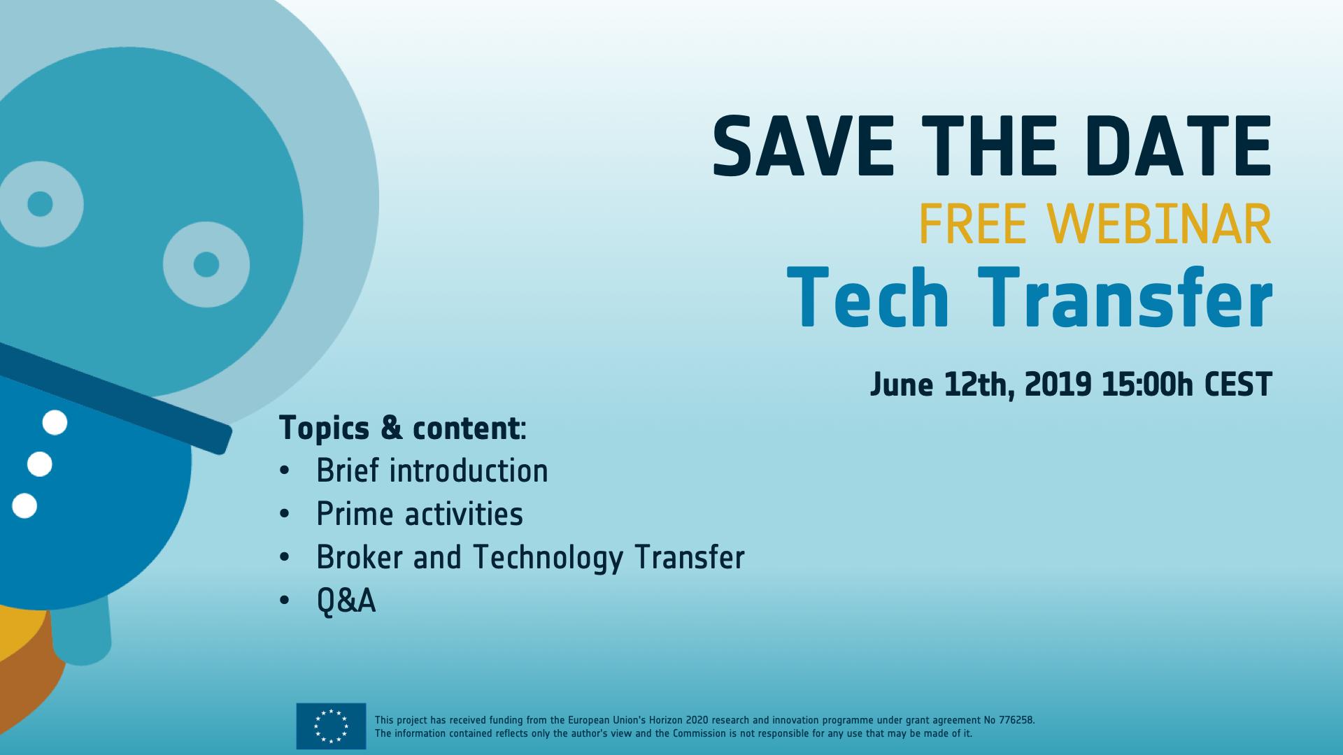 Webinar: Tech Transfer